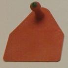 Allflex sertés apa táblás piros 100db
