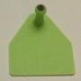 Allflex sertés apa táblás zöld 100db