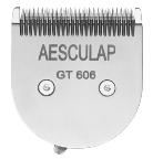 Aesculap nyírógépfej GT606 Accurata/Vega GT405/410 nyírógéphez