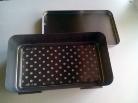 Sterilizáló doboz 23x13,5x5+filter autokláv /Deponette