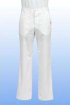 Orvosi nadrág fehér férfi S