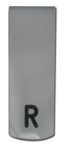 Röntgenfilm műanyag jelölő csipesz fém LR betéttel