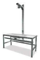 Röntgen asztal +állvány+ kazetta tartóval