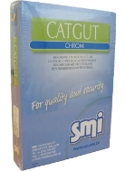 Catgut chrom USP2/0 EP3,5 100m