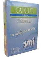 Catgut chrom USP6 EP10 30m