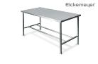 Vizsgálóasztal r.m. 130x60cm perem nélkül erősített  Eickemeyer