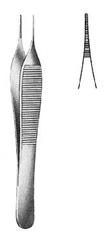Csipesz Adson 12 cm anatómiai mikro