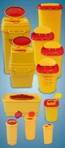 Tűgyűjtő doboz 1,9 literes