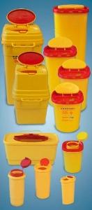 Tűgyűjtő doboz 1,5 literes