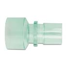 Műanyag csatlakozó 22mm/30mm gégecsőhöz