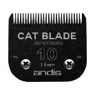Andis nyírófej #10/1,5mm BLACK E-COAT macska