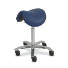 Orvosi szék Amazone nyereg alakú (szélesség:35cm) magasság:65-90cm kék
