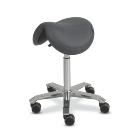 Orvosi szék Amazone nyereg alakú (szélesség:35cm) magasság:65-90cm szürke