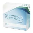 Kontakt lencse gyógyászati PureVision 6db/csomag