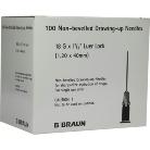 Eh. tű 18G x 1 1/2  (1,2 x 40mm) 100db/csomag B.Braun TOMPA!